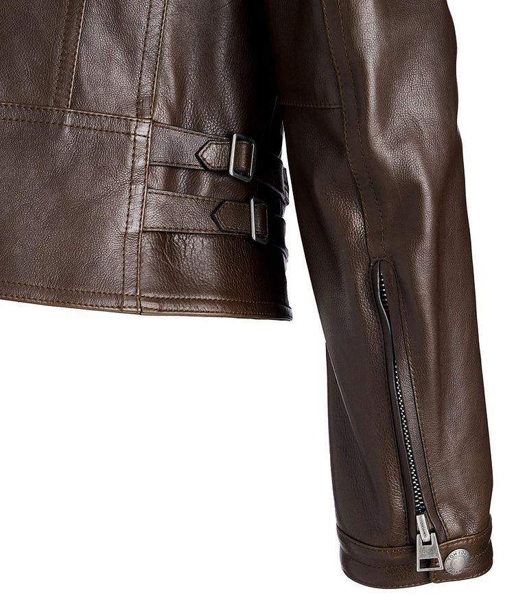 Calfskin Biker Jacket image 3