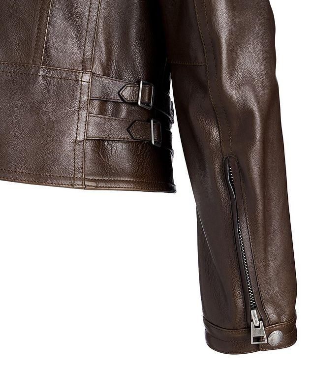 Calfskin Biker Jacket picture 4