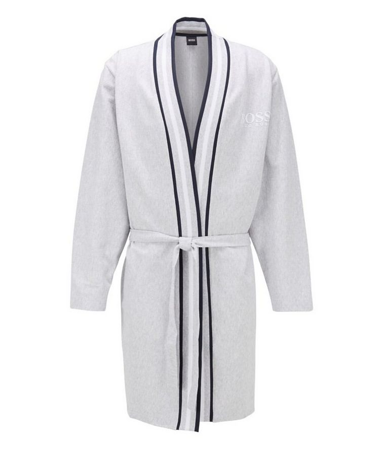 Ribbed Cotton Robe image 0