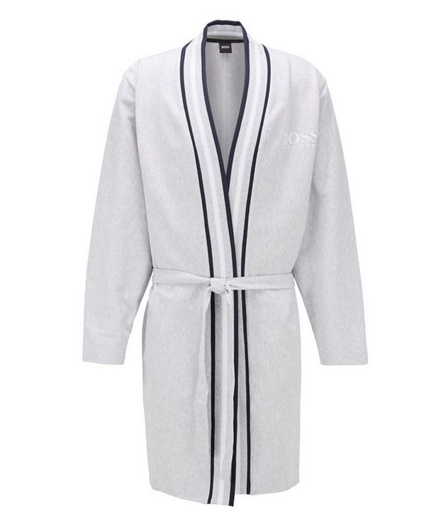 Ribbed Cotton Robe picture 1