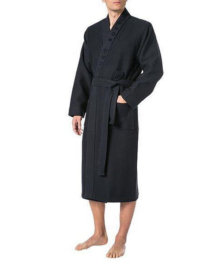 Waffled Cotton Robe image 1