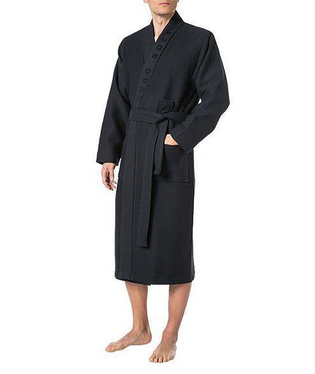 Waffled Cotton Robe picture 2