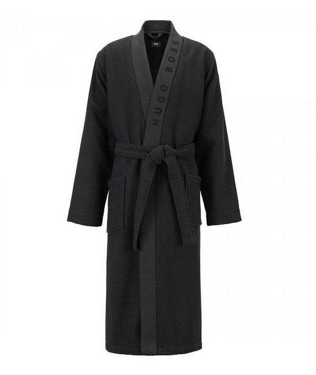 Waffled Cotton Robe picture 1
