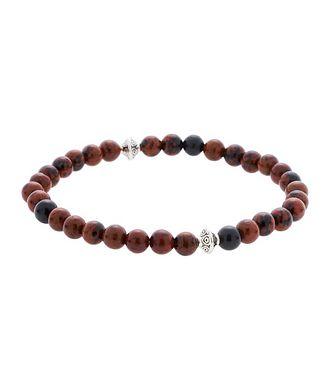 Edward Armah Mahogany Obsidian Gemstone Bracelet