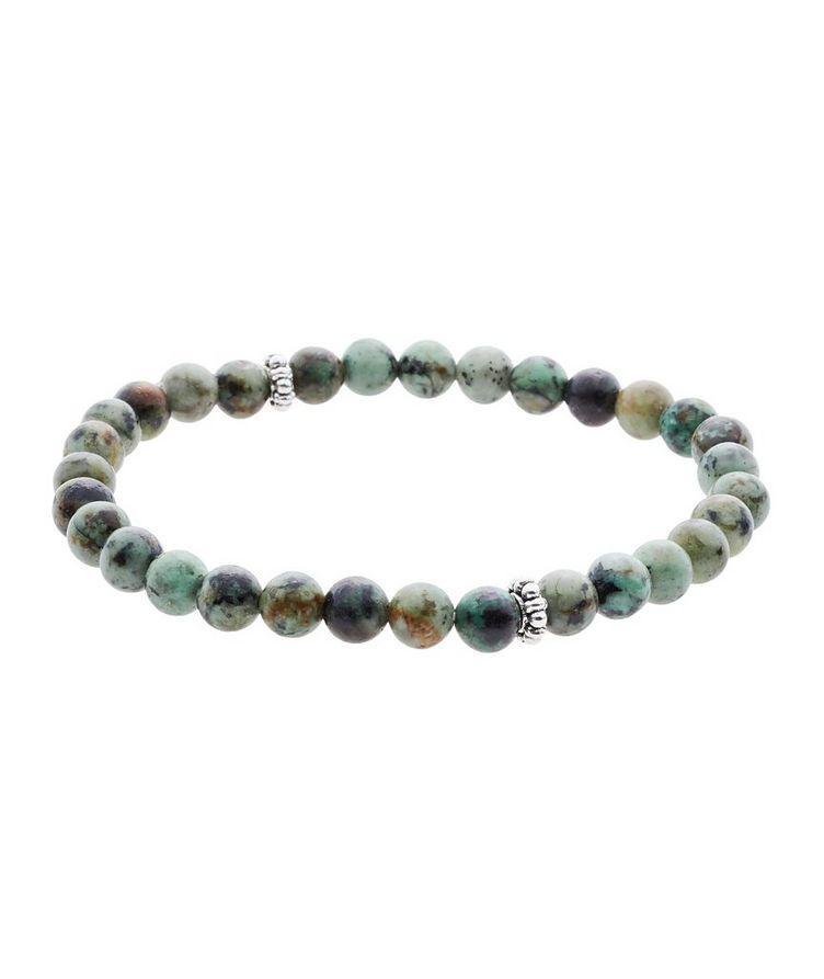 African Turquoise Gemstone Bracelet image 0