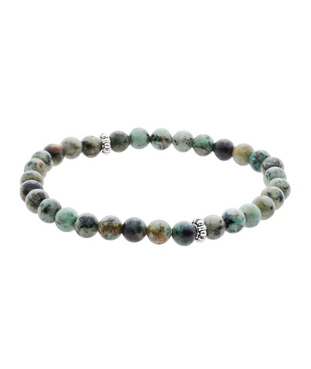 African Turquoise Gemstone Bracelet picture 1