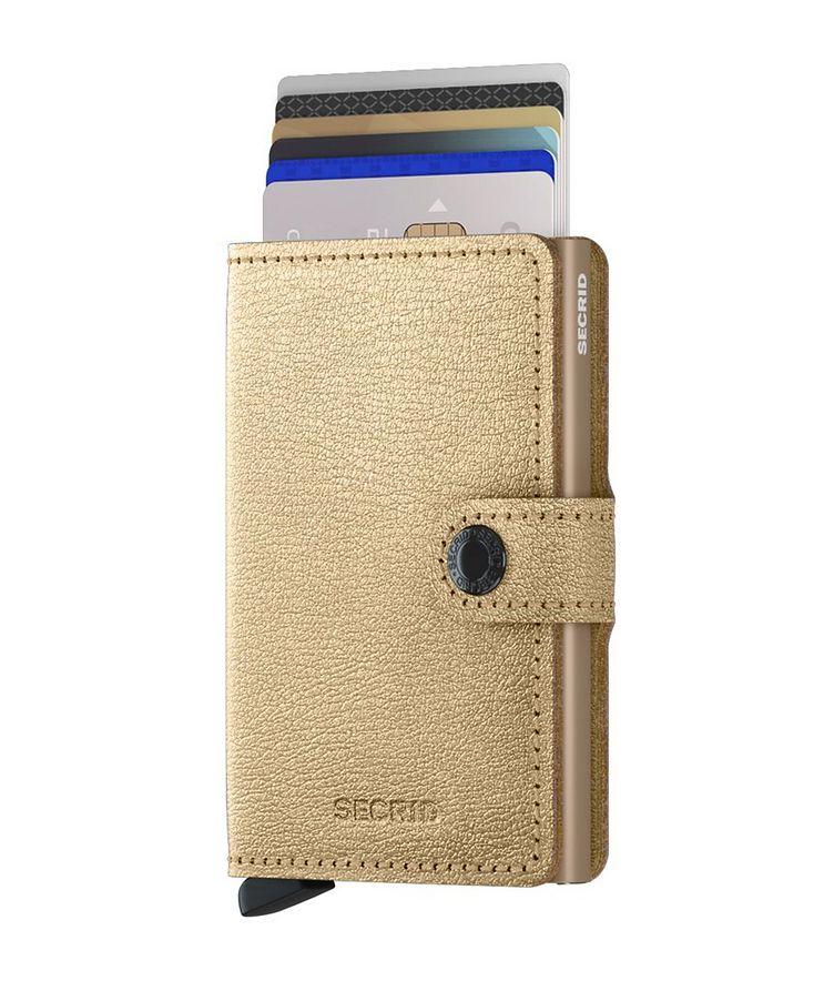 Petit portefeuille en cuir image 1