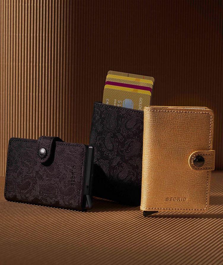 Petit portefeuille en cuir image 5