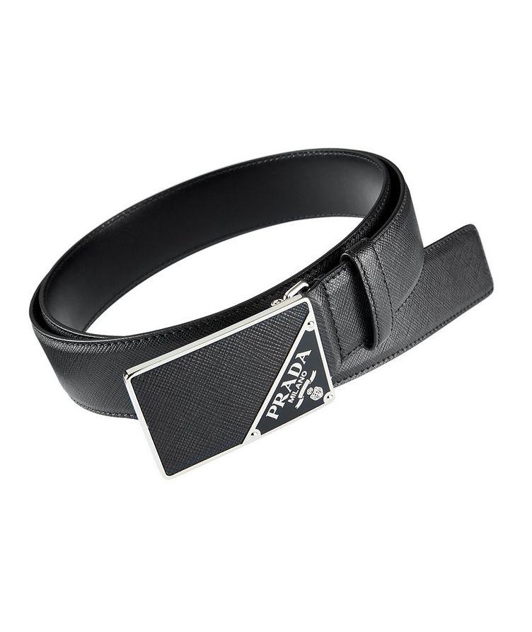 Saffiano Leather Belt image 0