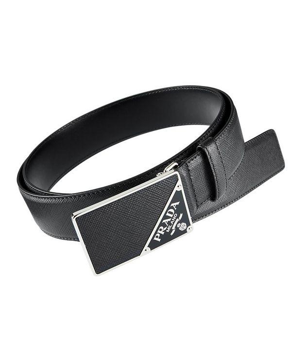 Saffiano Leather Belt picture 1