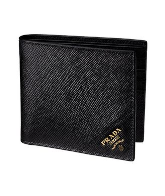 Prada Saffiano Leather Bifold Wallet