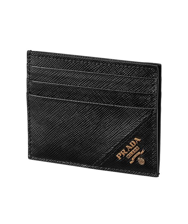 Saffiano Leather Card Holder picture 1