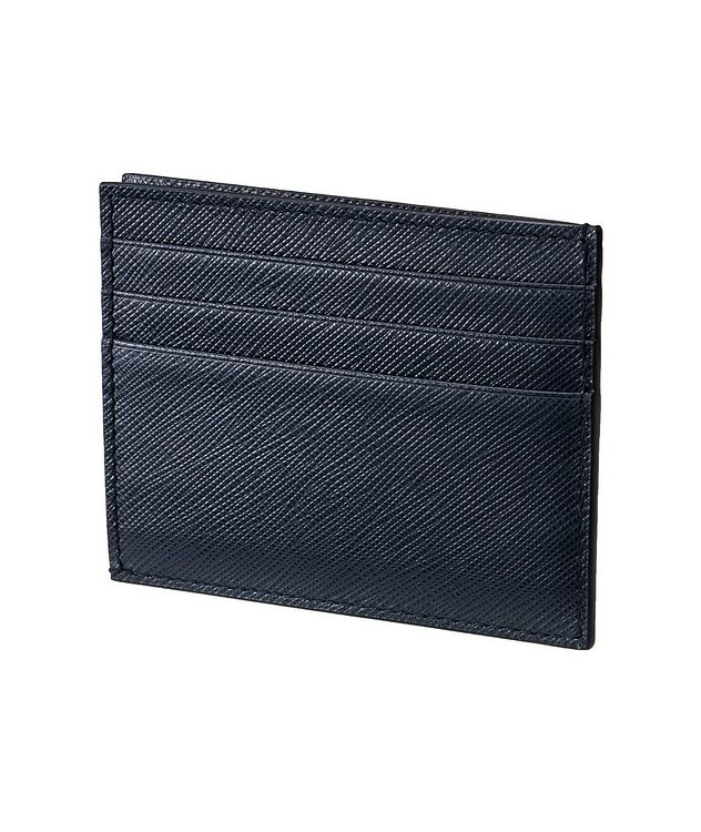Saffiano Leather Card Holder picture 2