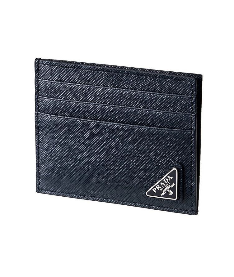 Saffiano Leather Card Holder image 0