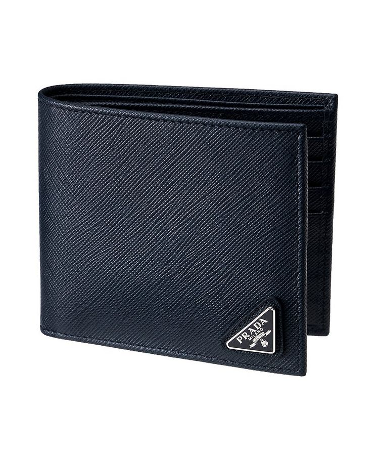 Saffiano Leather Bifold Wallet image 0