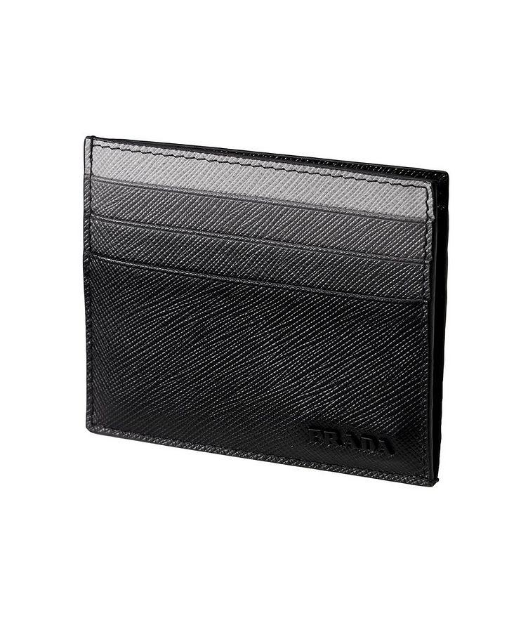 Saffiano Leather Card Holder image 0