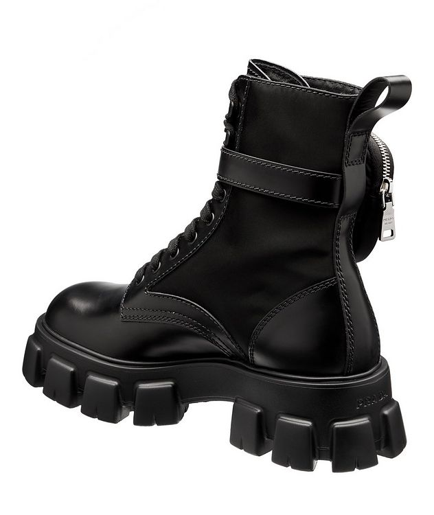 Monolith Leather and Nylon Boots picture 2