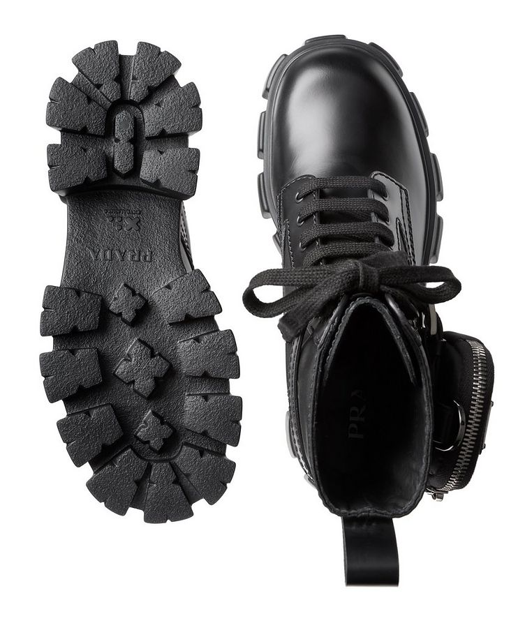Monolith Leather and Nylon Boots image 2