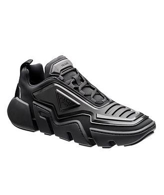 Prada Techno Stretch Fabric Sneakers