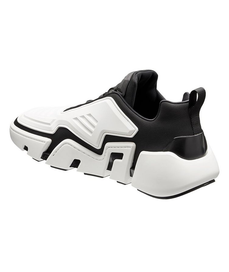 Techno Stretch Fabric Sneakers image 1