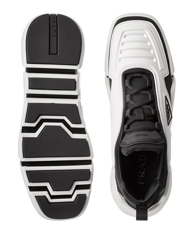 Techno Stretch Fabric Sneakers picture 3