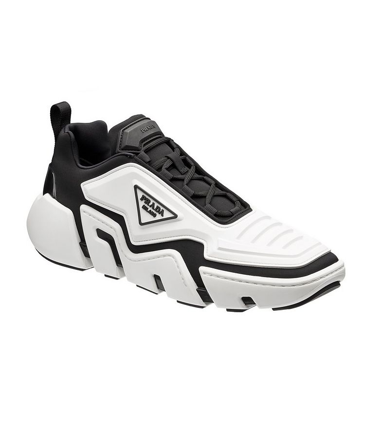 Techno Stretch Fabric Sneakers image 0