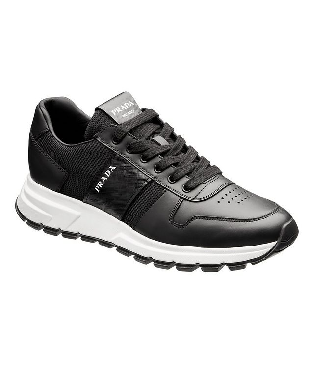 Prax 01 Leather Sneakers picture 1