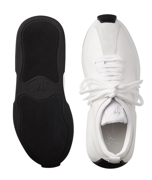 Omnia 10 Arena Leather Sneakers picture 3