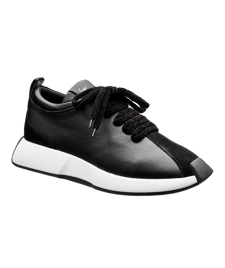 Omnia 10 Arena Leather Sneakers image 0