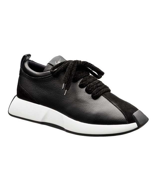 Omnia 10 Arena Leather Sneakers picture 1