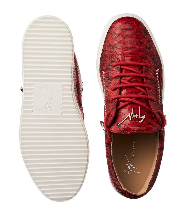 May London Zwift Leather Sneakers image 2