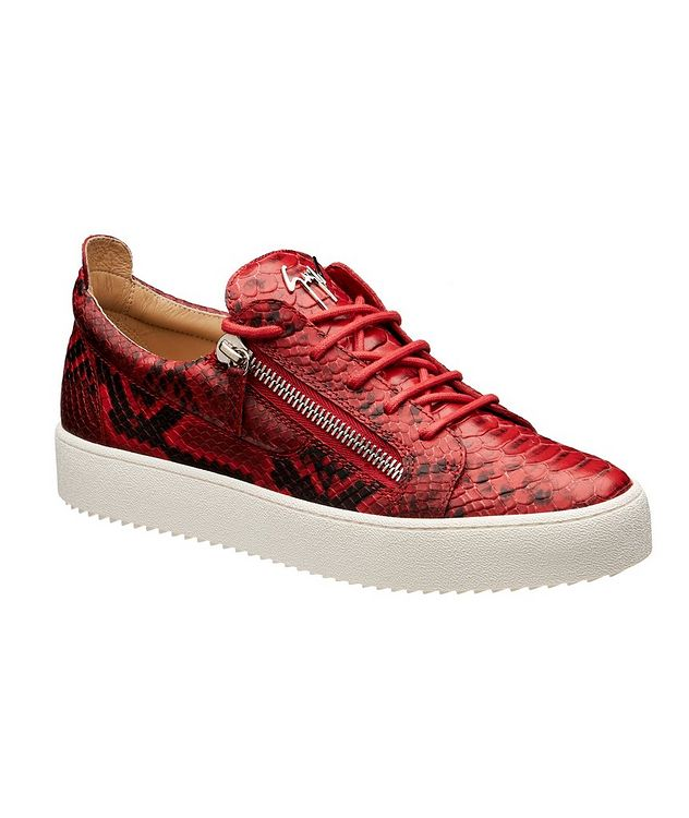 May London Zwift Leather Sneakers picture 1
