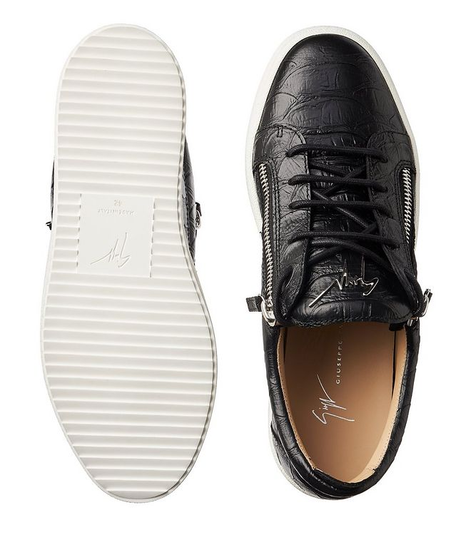 May London Koi Leather Sneakers picture 3