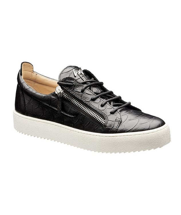 May London Koi Leather Sneakers picture 1