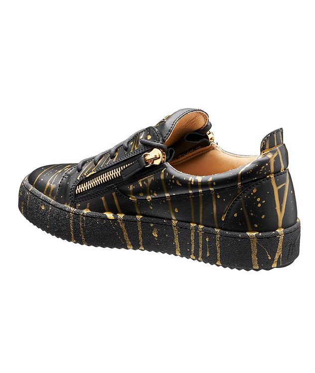 May London Sport T Leather Sneakers picture 2