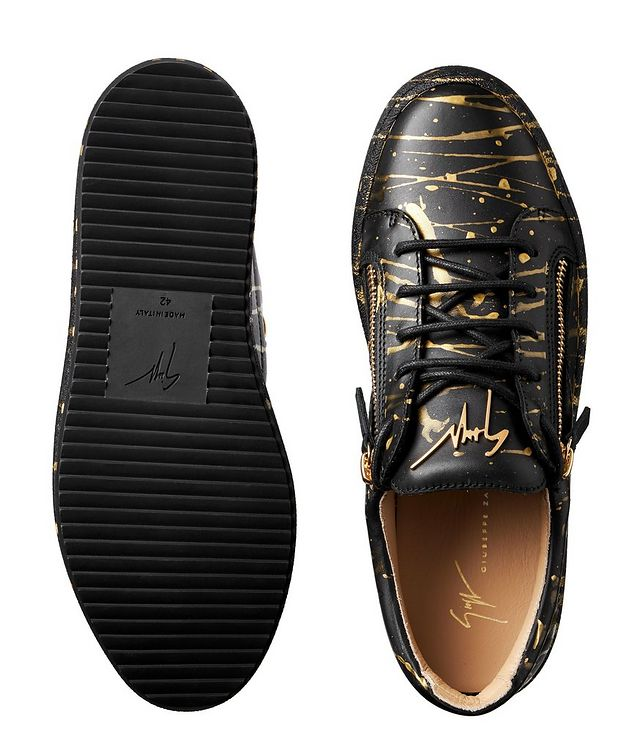 May London Sport T Leather Sneakers picture 3