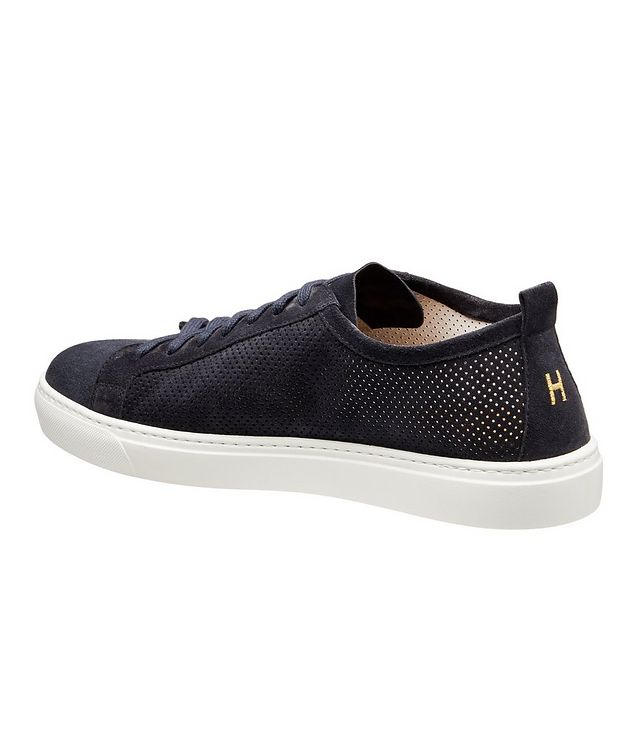 Roby Perforated Suede Sneakers picture 2