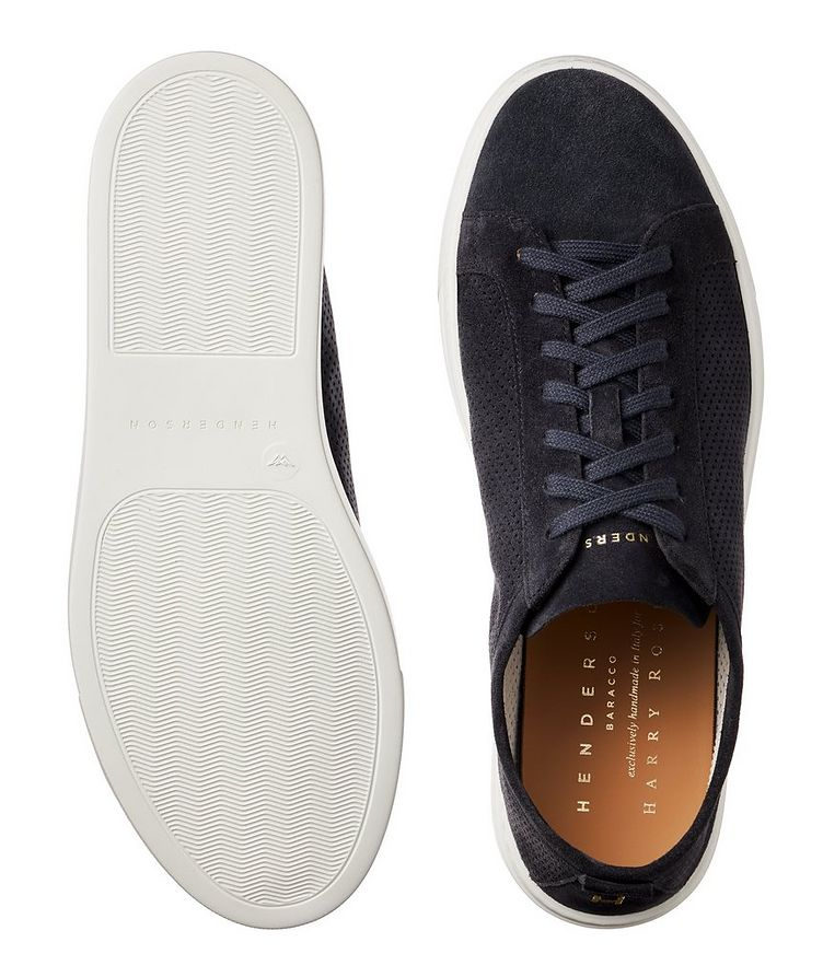 Roby Perforated Suede Sneakers image 2