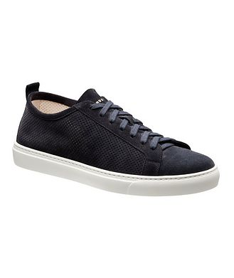 Henderson for Harry Rosen Roby Perforated Suede Sneakers