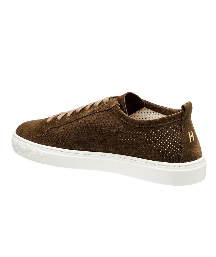Roby Perforated Suede Sneakers image 1
