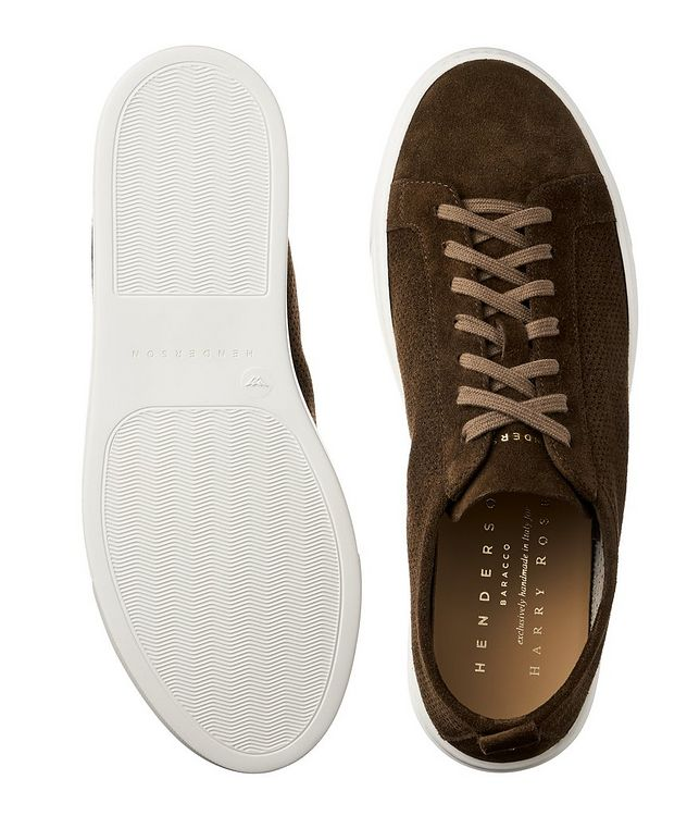Roby Perforated Suede Sneakers picture 3