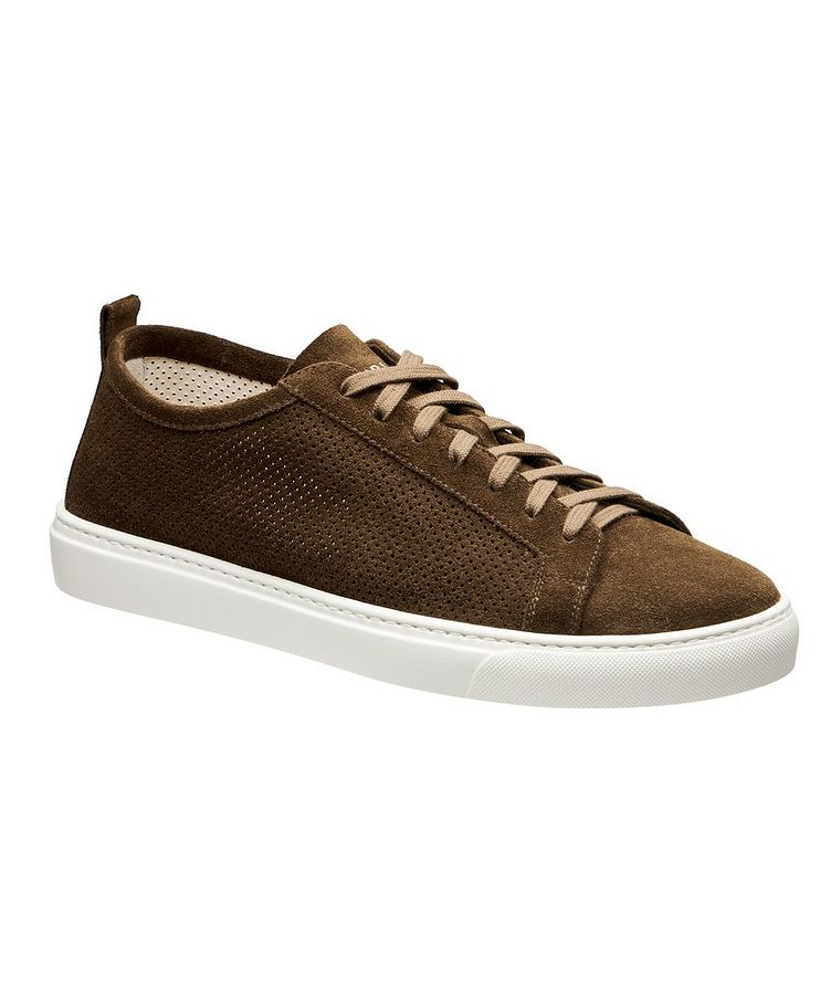Roby Perforated Suede Sneakers image 0