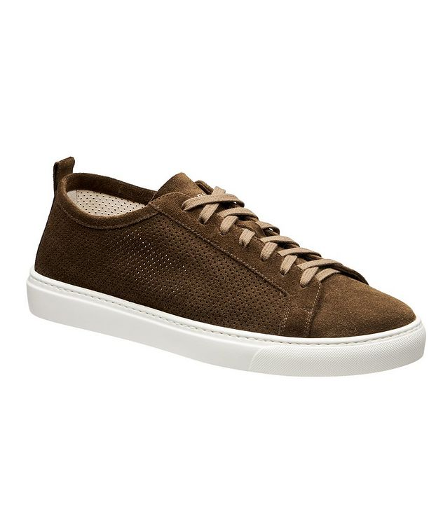 Roby Perforated Suede Sneakers picture 1