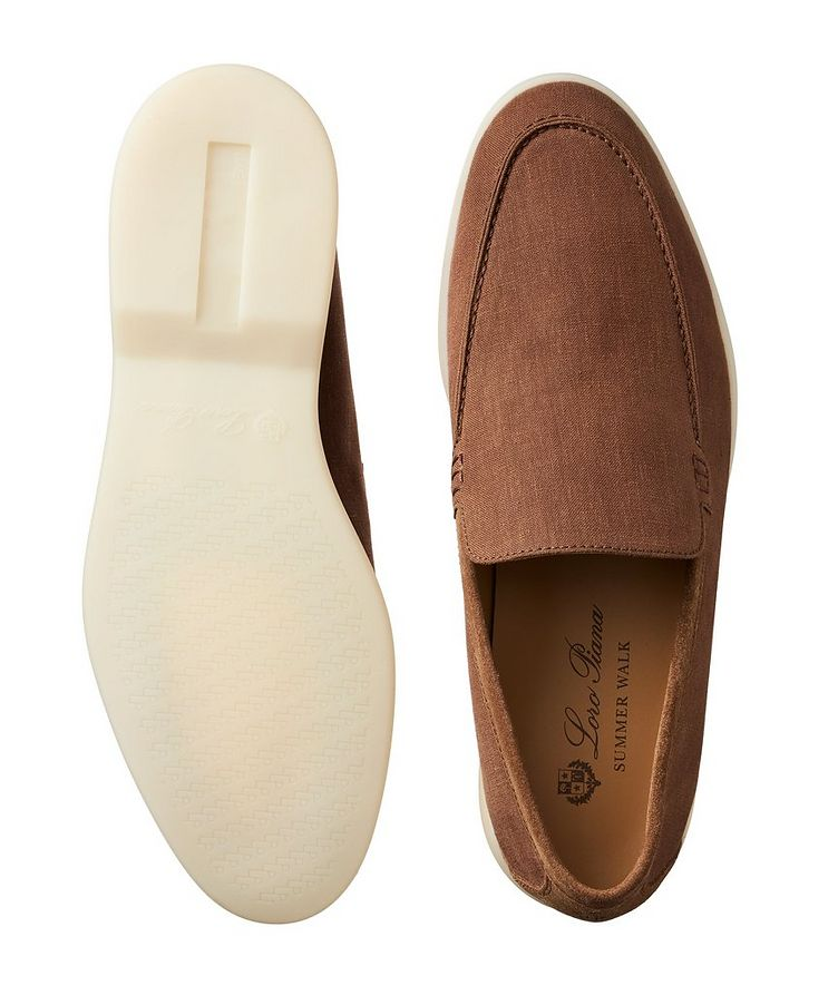 Summer Walk Linen Loafers  image 2