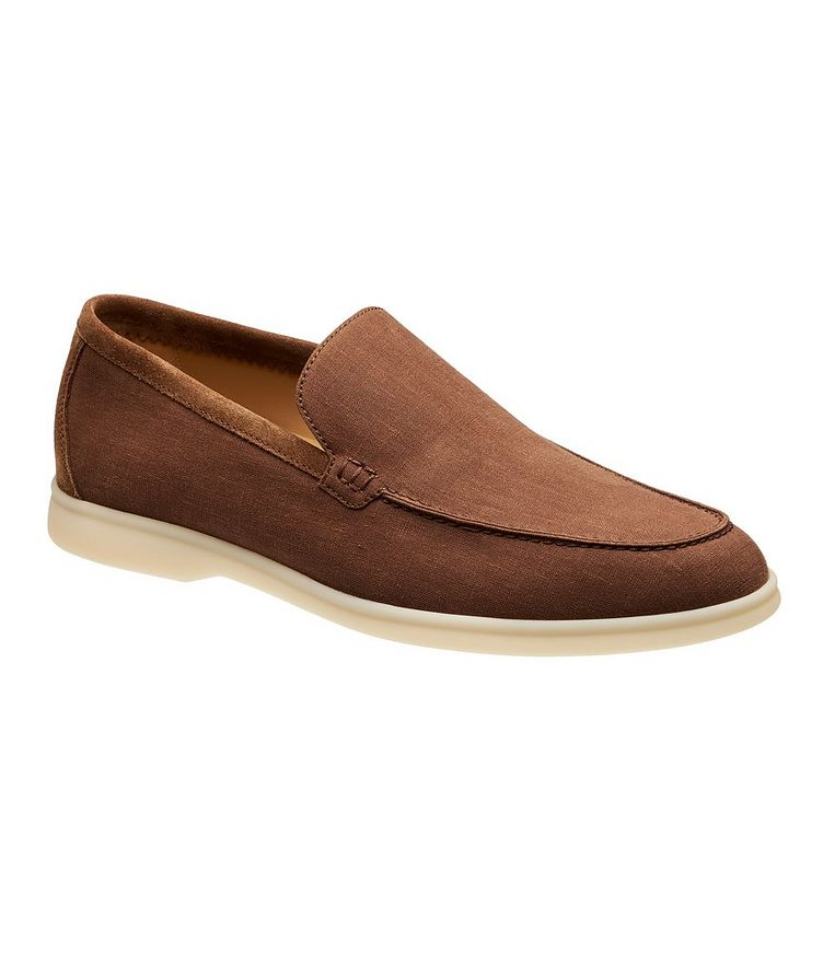 Summer Walk Linen Loafers  image 0