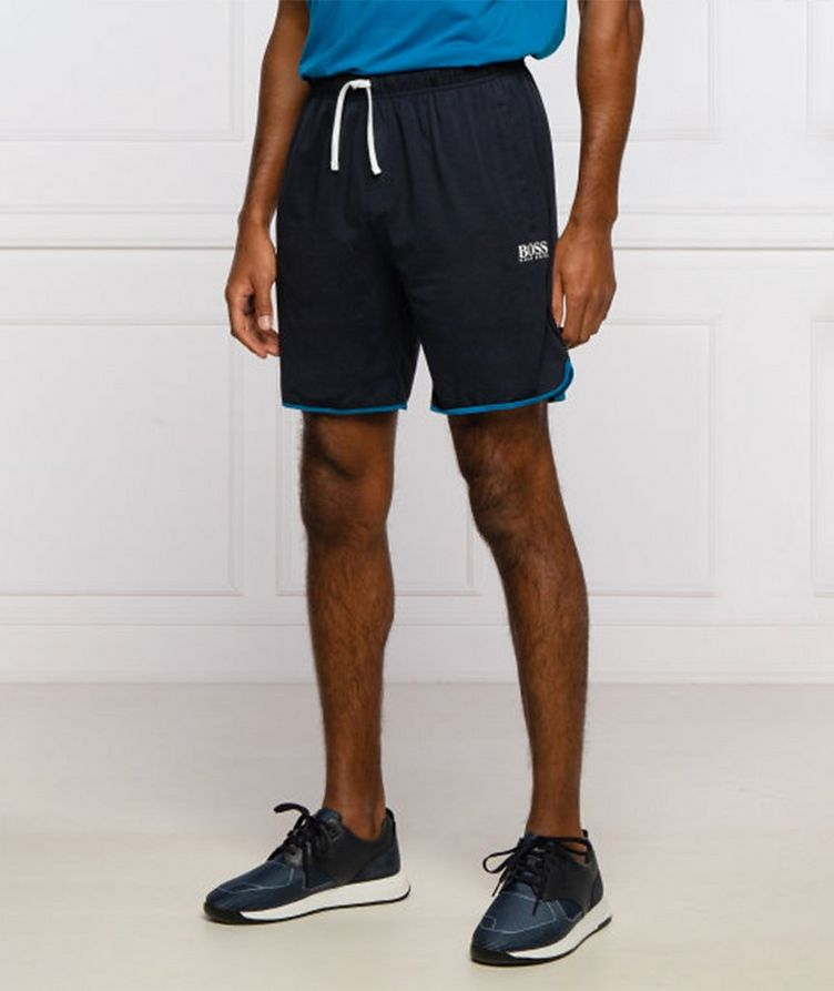 Balance Stretch Cotton-Blend Lounge Shorts image 1