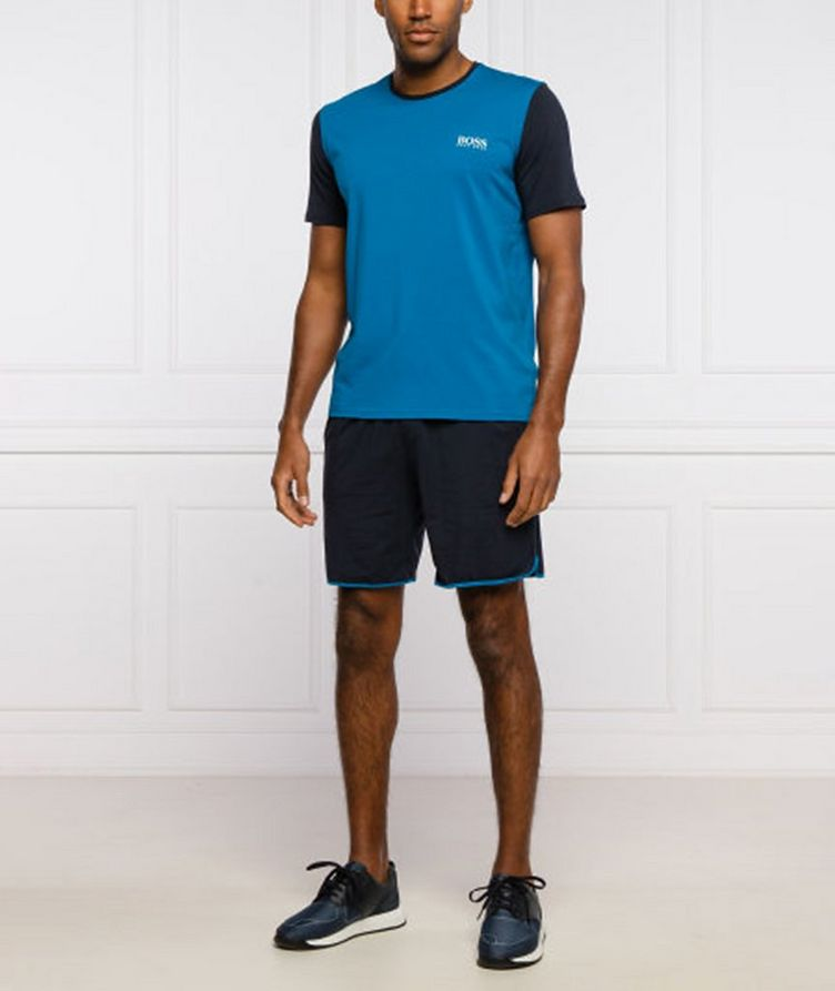 Balance Stretch Cotton-Blend Lounge Shorts image 4