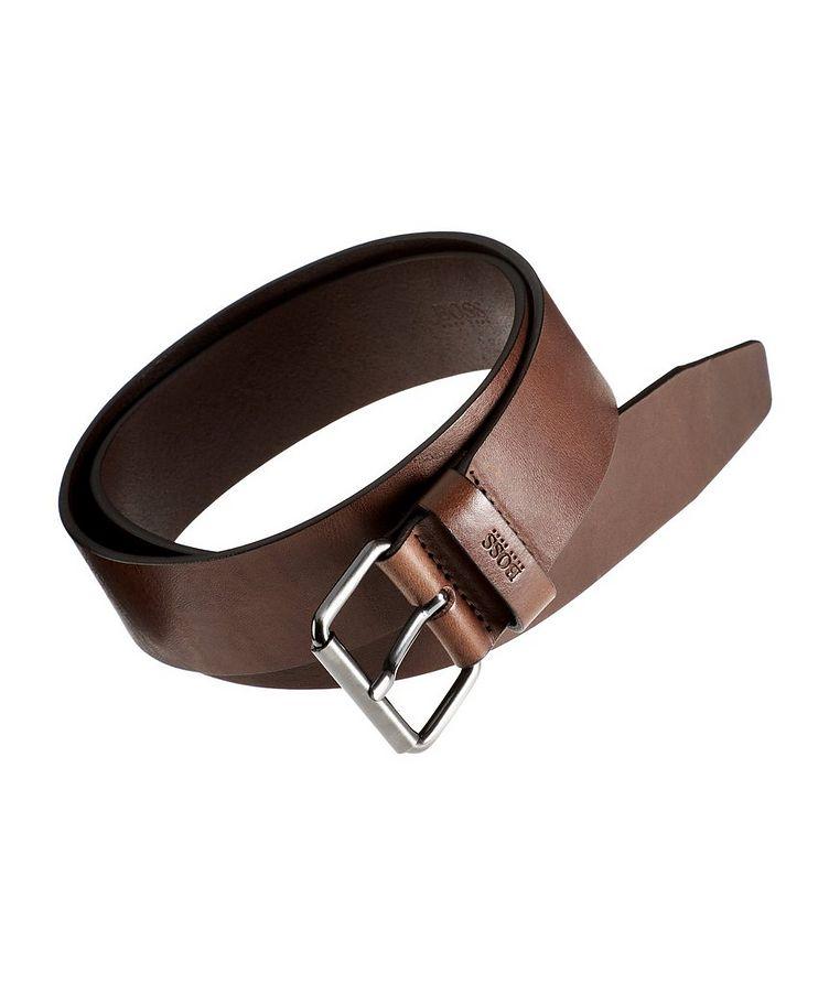 Serge Leather Belt image 0