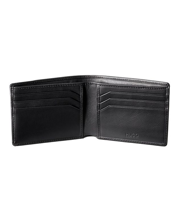 Embossed Leather Bifold Wallet picture 2