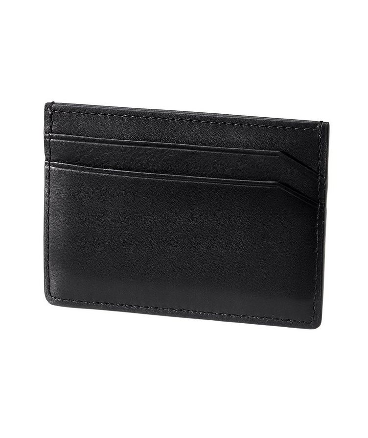 Embossed Leather Card Holder image 1